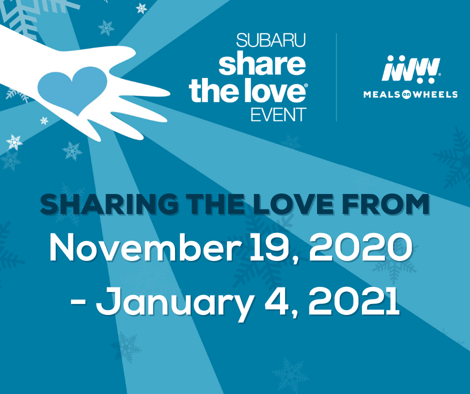 Subaru Share the Love® Event