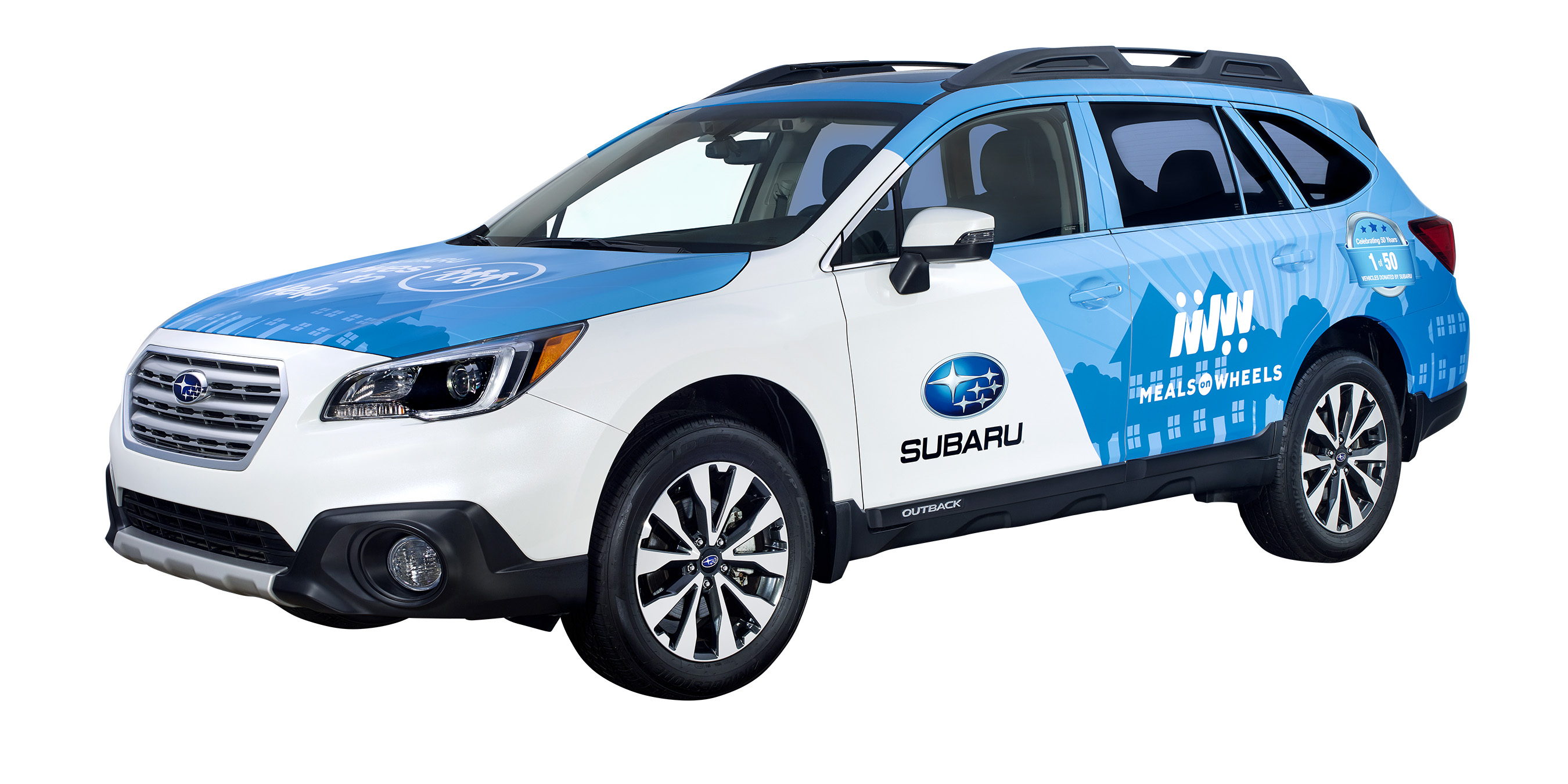 Subaru Donates a 2018 Outback to Foodnet Meals on Wheels!